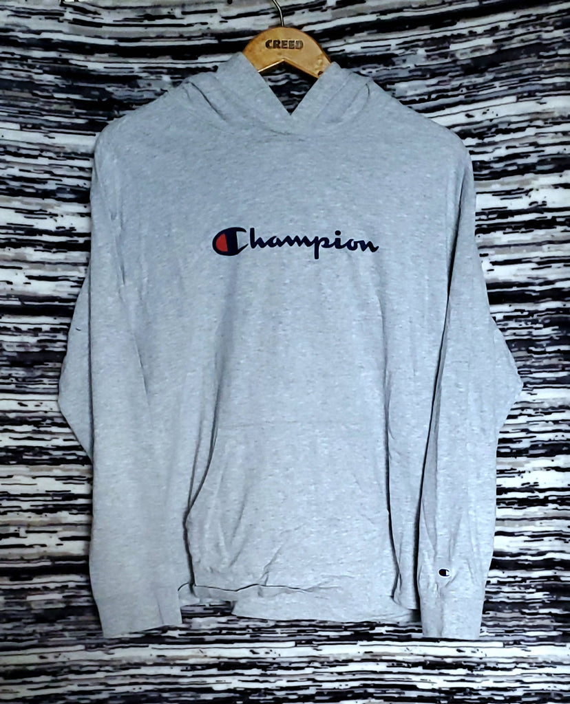 CHAMPION Grey Pullover Hoodie| Size tagged X-Large fits Large