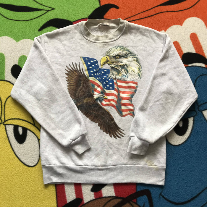Vintage USA Eagles Crewneck. Small