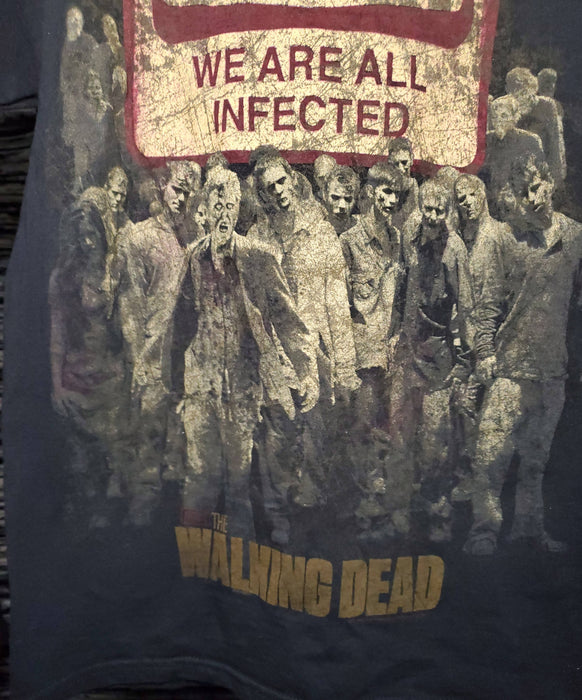 AMC the walking  dead  promo Tee size small