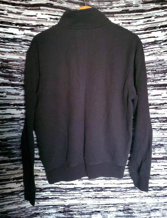 NAUTICA Black Quarter Zip size Medium