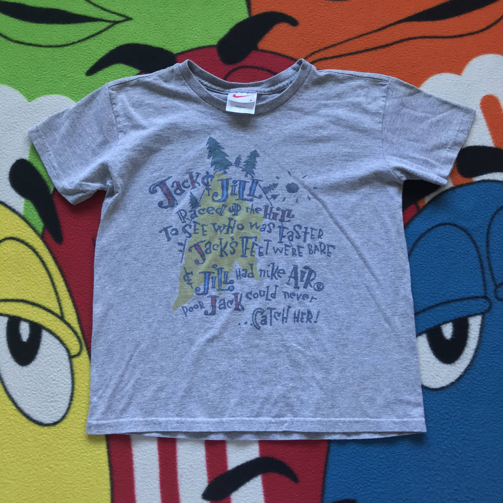 Vintage 90's Nike Jack & Jill Tee. Youth Small