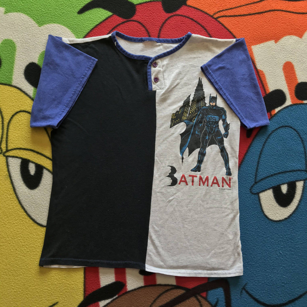 Vintage 95' Batman Shirt. Women's X-Small