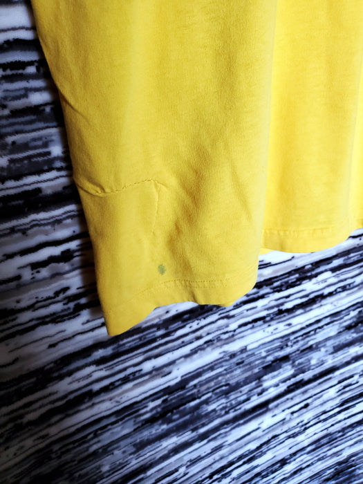 TOMMY HILFIGER Yellow Tee Shirt |Size Medium *flaw*