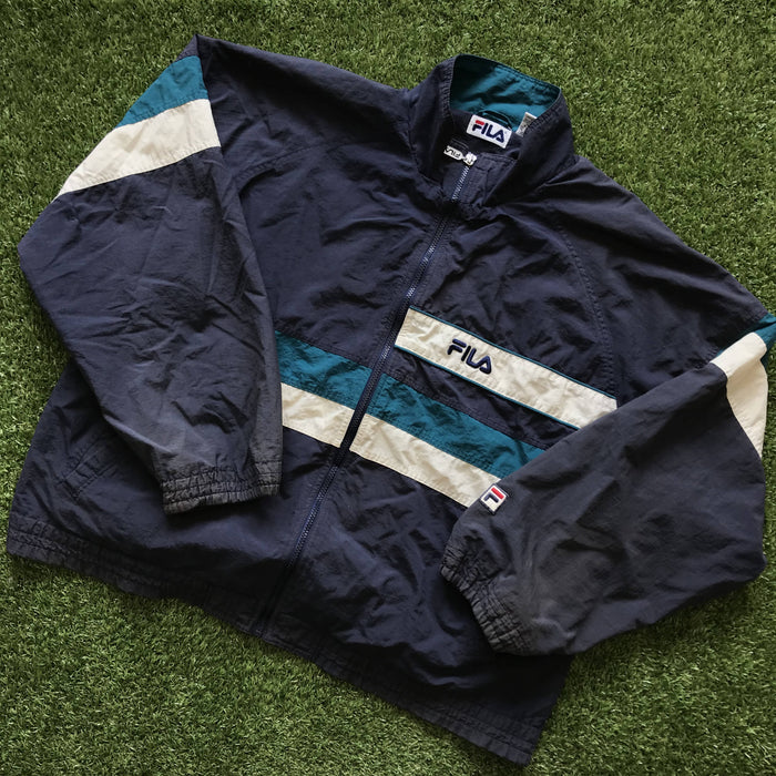 Vintage 90s Fila Windbreaker. X-Large