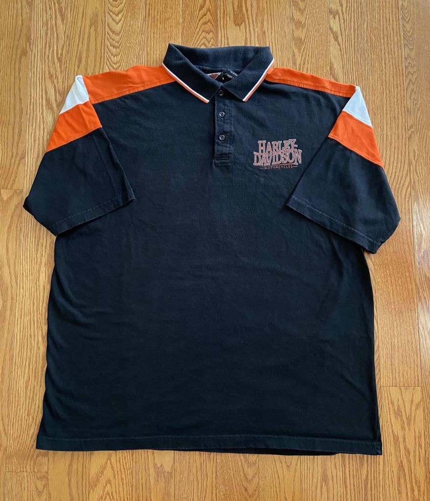 Vintage Harley Polo. 3XL/Women's Dress