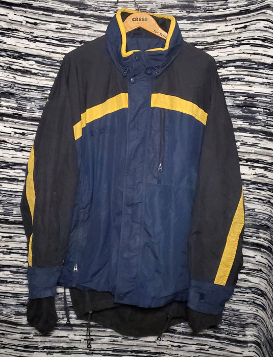 Vintage Columbia  Sport with inner lining Ski Jacket *zipper flow*  size X-Large