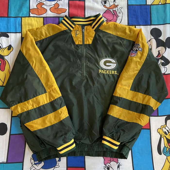 Vintage Greenbay Packers Pro Player Jacket. X-Large