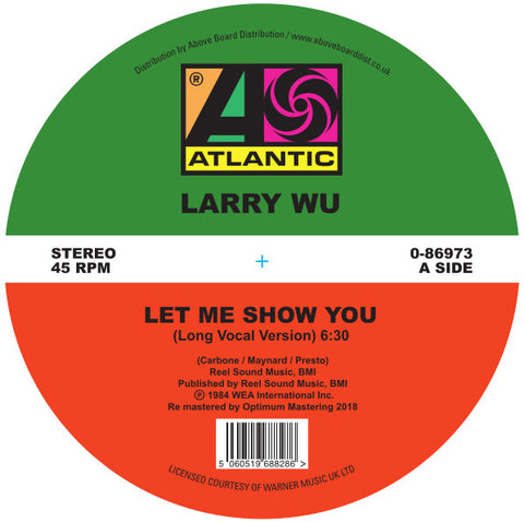 Larry Wu ‎– Let Me Show You 12""