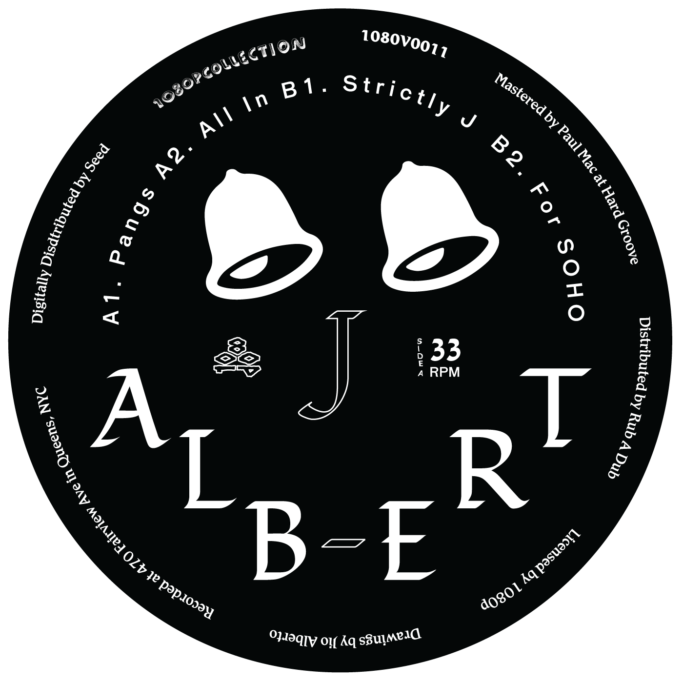 "J. Albert ‎– Strictly J 12"" - Vinylhouse"