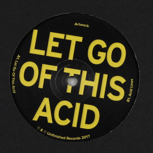 "Artwork - Let Go Of This Acid 12"" - Vinylhouse"