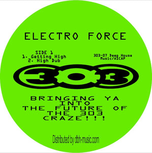 Electro Force ‎– Getting High 12""