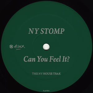 NY Stomp - Can You Feel It? (Re-Cut) 12""