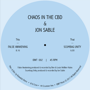 "Chaos In The CBD / Jon Sable - False Awakening 12"" - Vinylhouse"