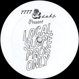 "Jared Wilson ‎– Local Slope Pros Only 12"" - Vinylhouse"