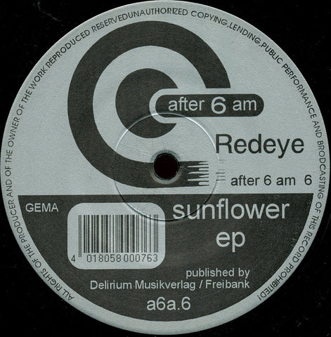 Redeye - Sunflower EP
