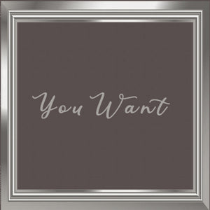 Omar S ‎– You Want 4LP