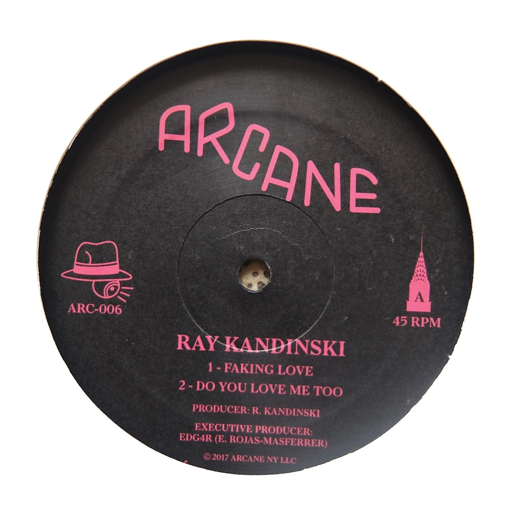"Ray Kandinski ‎– Faking Love 12"" - Vinylhouse"