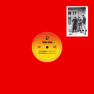 "1000 Ohm ‎– Love In Motion 12"" - Vinylhouse"