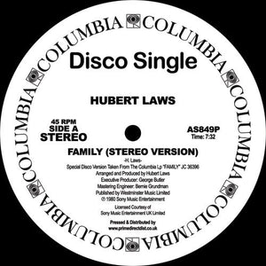"Hubert Laws ‎– Family 12"" - Vinylhouse"