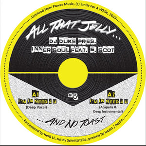 "DJ Duke Pres. Inner Soul Feat. E. Scot ‎– I'm In Need 4 U 12"" - Vinylhouse"