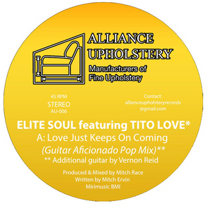 Elite Soul Featuring Tito Love ‎– Love Just Keeps On Coming 12""