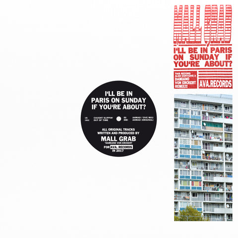 "Mall Grab ‎– I'll Be In Paris On Sunday If You're About? 12"" - Vinylhouse"