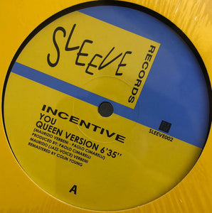 Incentive  ‎– You 12""