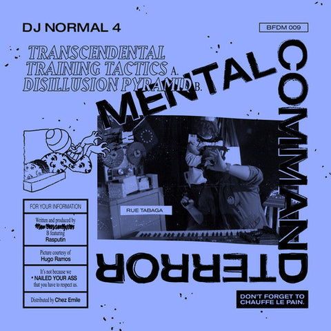 "DJ Normal 4 ‎– Mental Command Terror 10"" - Vinylhouse"