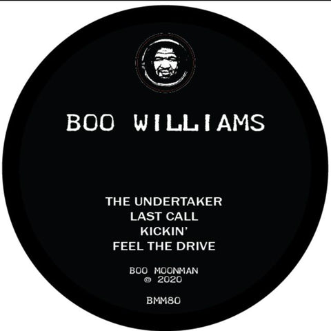 Boo Williams - The Undertaker 12""