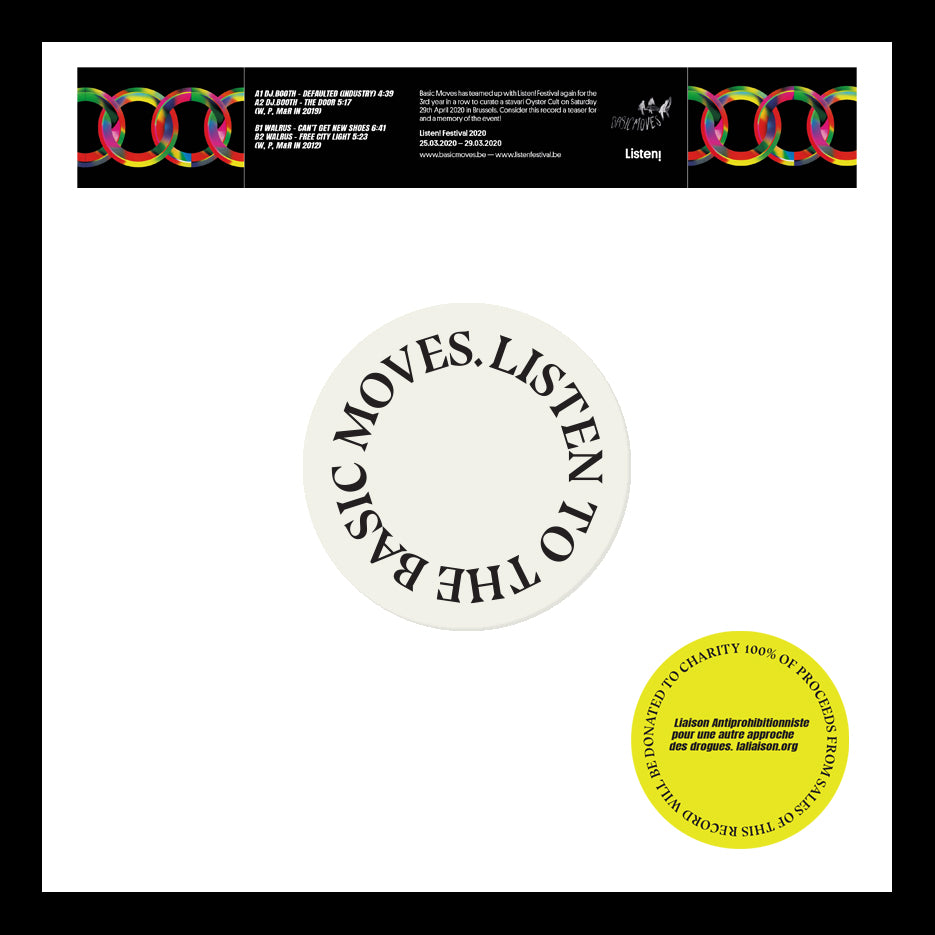 Walrus / Dj.Booth ‎– Listen to the Basic Moves 12""