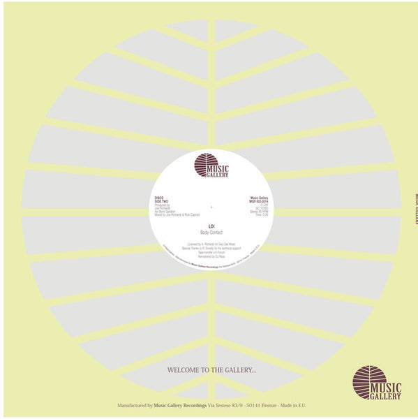 "LOI – When I Feel The Need For Love 12"" - Vinylhouse"