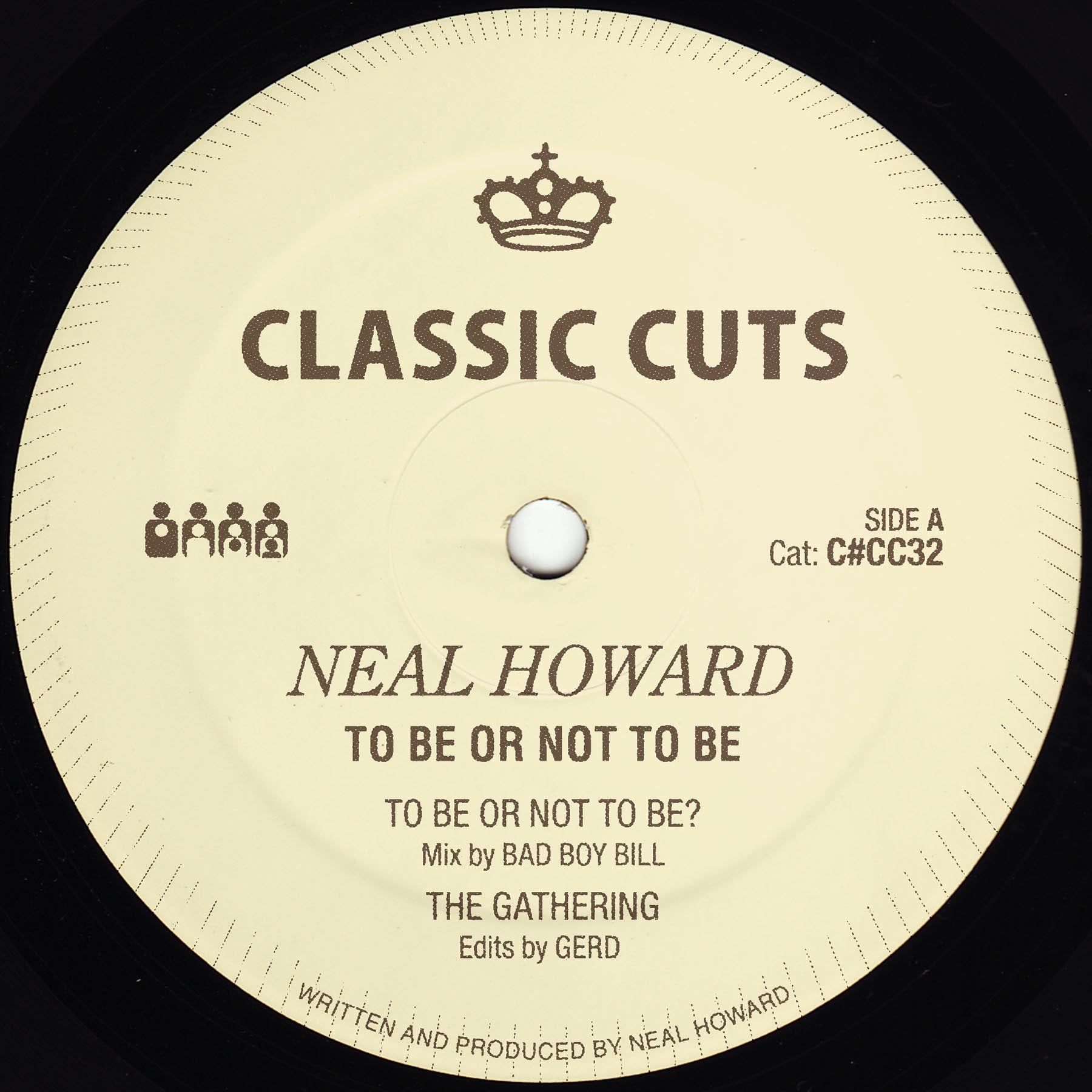 Neal Howard - To Be Or Not To Be EP - Vinylhouse