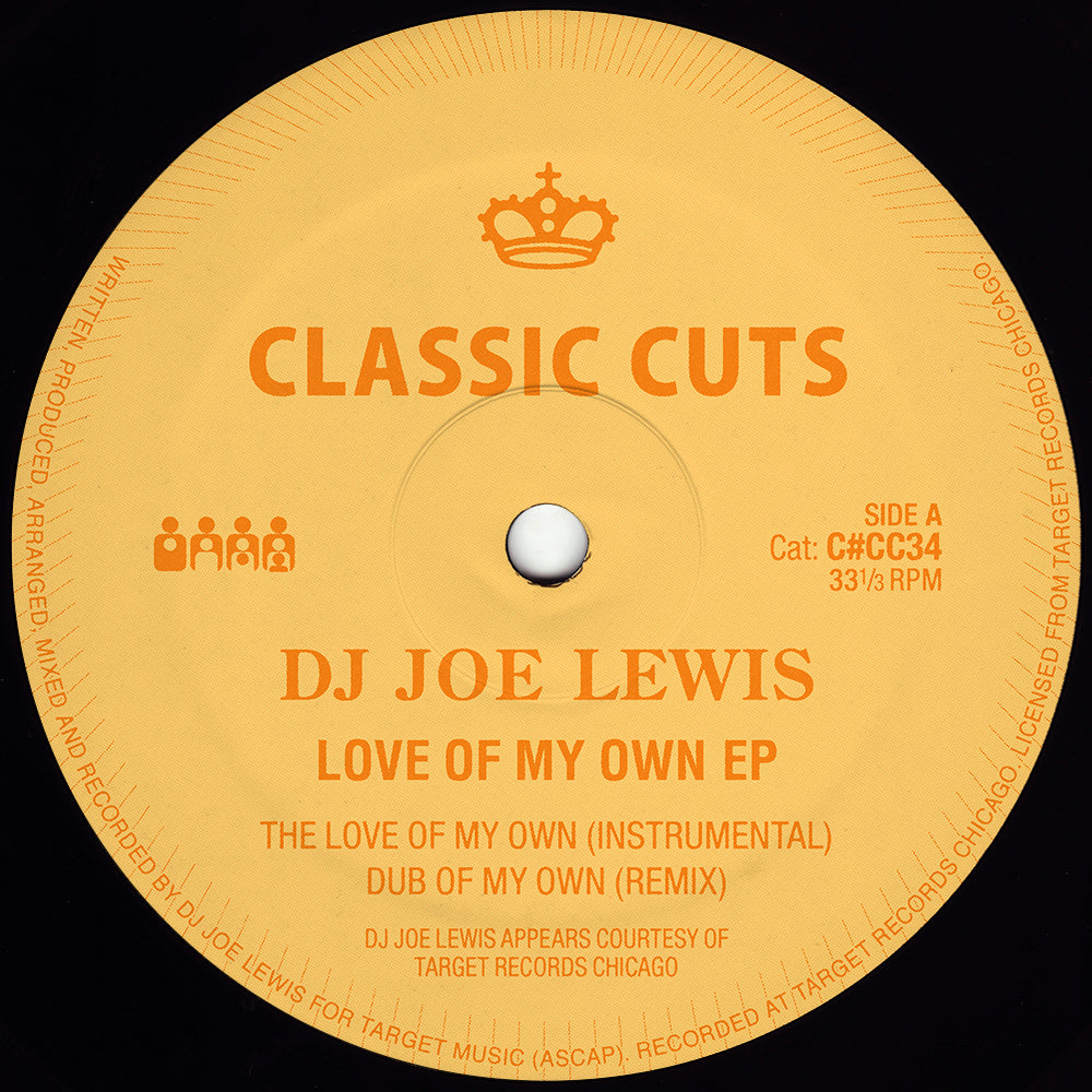 "DJ Joe Lewis ‎– Love Of My Own 12"" - Vinylhouse"