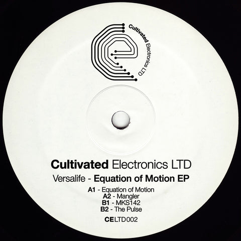 Versalife ‎– Equation Of Motion EP