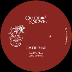 Posthuman ‎– The Snake Bites Twice 12""
