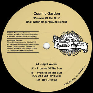 Cosmic Garden - Promise Of The Sun (Glenn Underground Remix) 12""