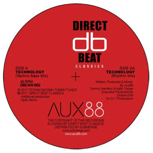 "Aux88 ‎– Technology EP 12"" - Vinylhouse"