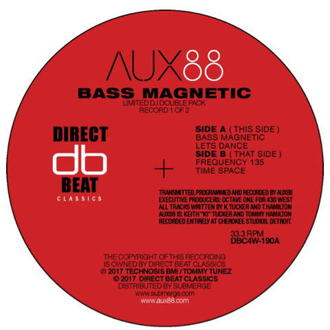 Aux88 ‎– Bass Magnetic DoLP - Vinylhouse