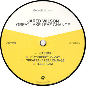 Jared Wilson ‎– Great Lake Leaf Change 12""