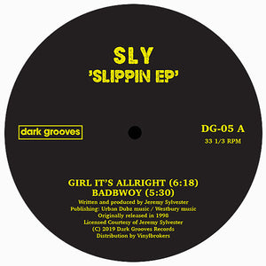 Sly ‎– Slippin EP