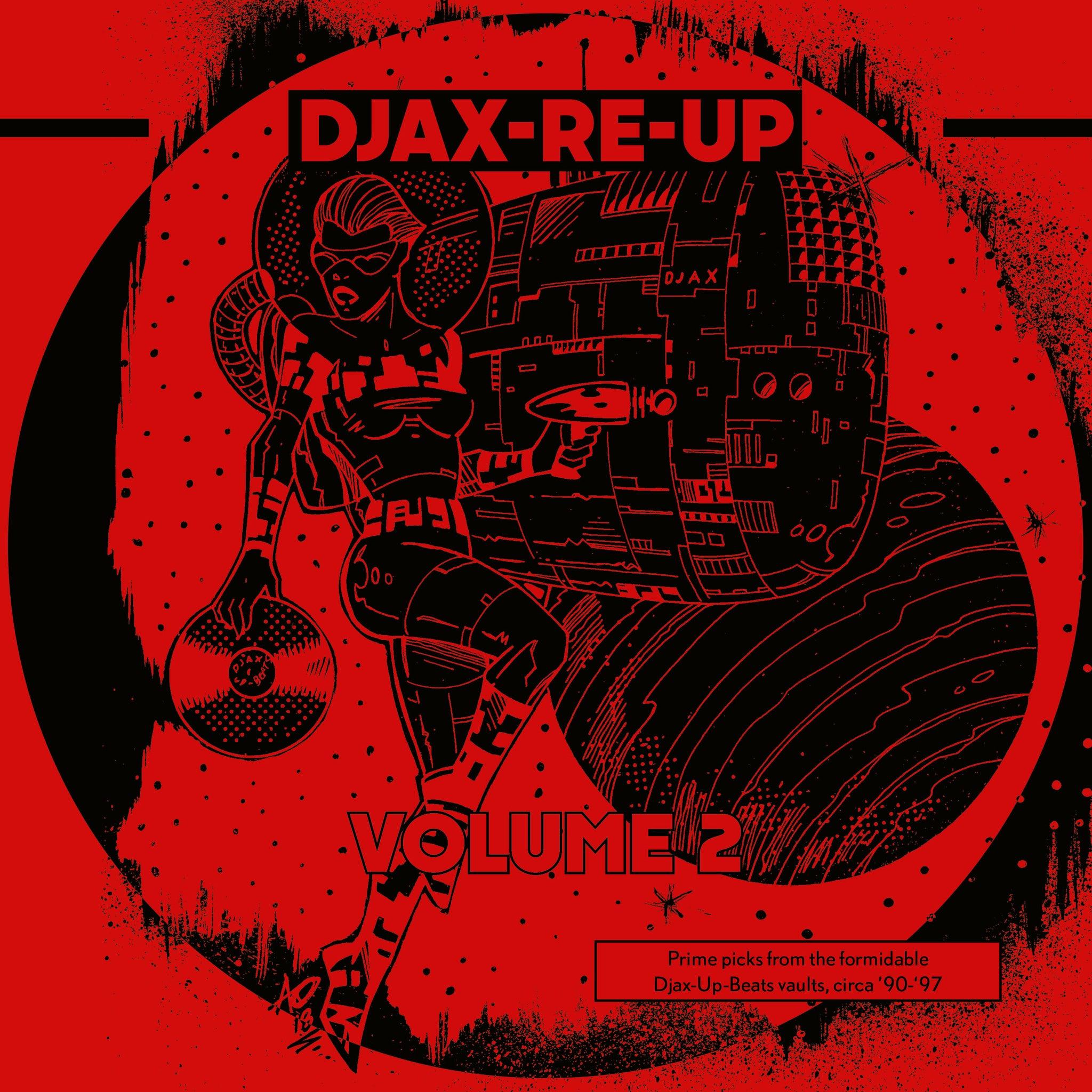 Various ‎– Djax-Re-Up Volume 2 DoLP