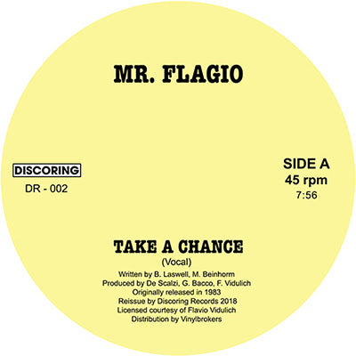 Mr. Flagio ‎– Take A Chance 12""