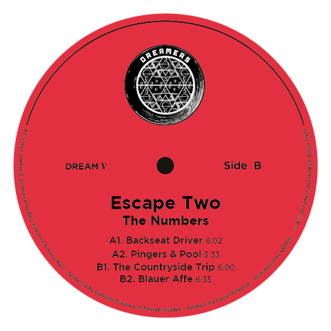 Escape Two ‎– The Numbers 12""