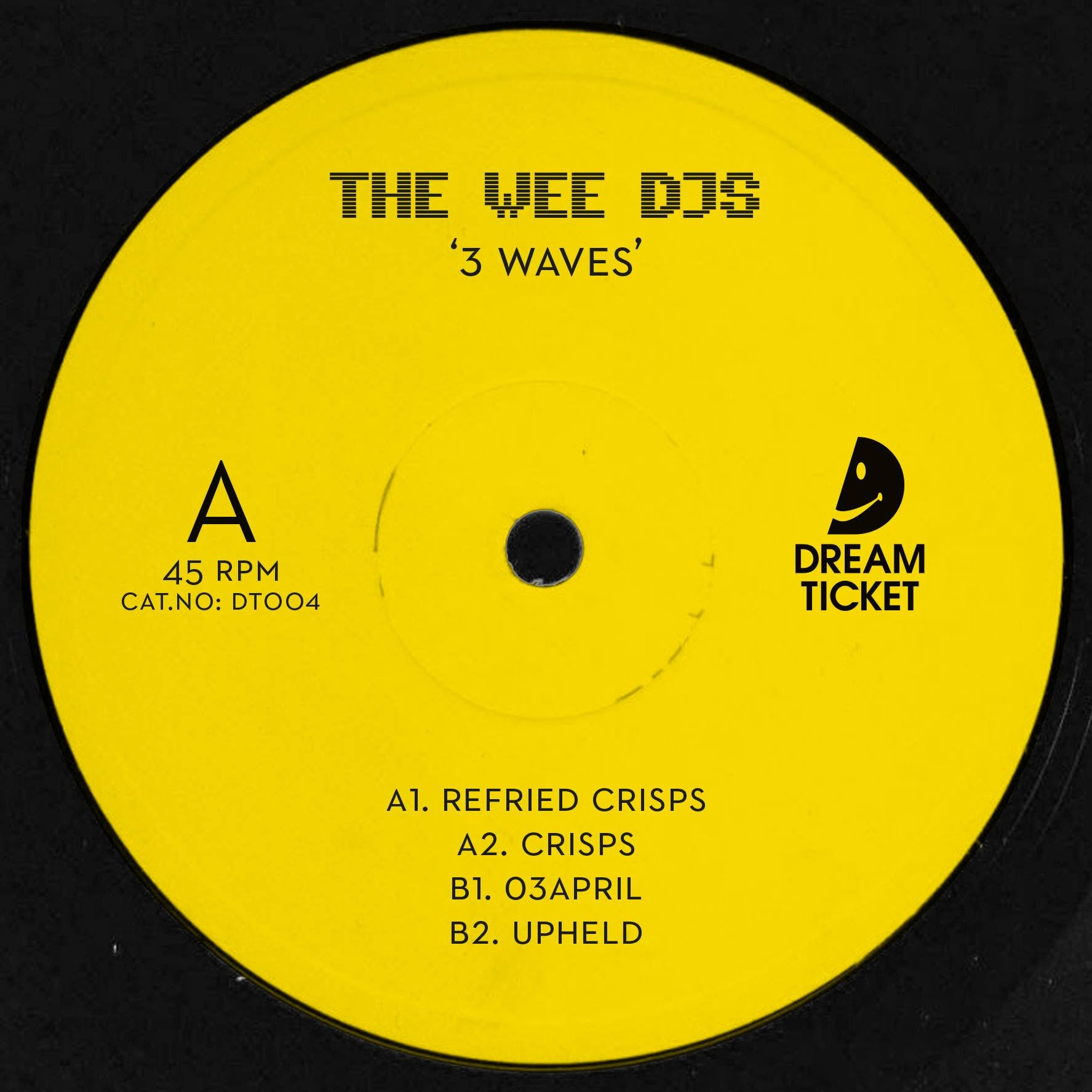 The Wee DJs - 3 Waves 12""