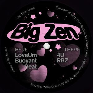 Big Zen ‎– Big Time Crush 12""
