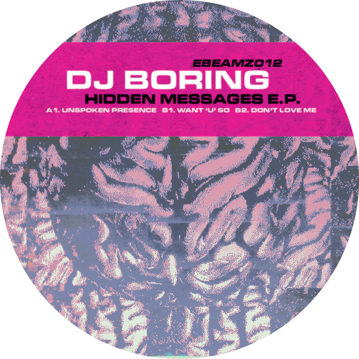 DJ Boring ‎– Hidden Messages EP - Vinylhouse