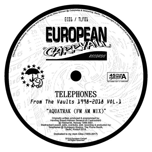 Telephones ‎– From The Vaults 1998-2018 Vol 1 12""