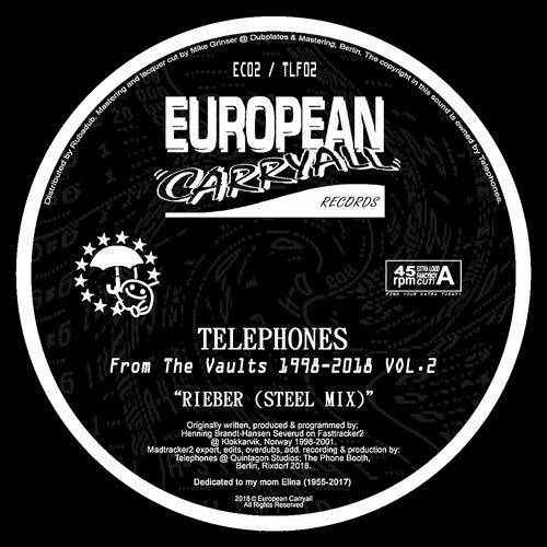 Telephones - From The Vaults 1998-2018 Vol 2 12""