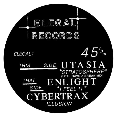 Various Artists - ELEGAL 12""
