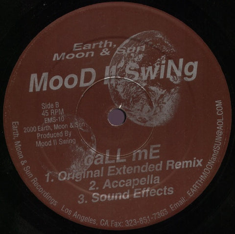 Mood II Swing - Call Me 12""